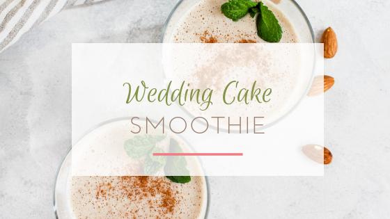 wedding cake smoothie