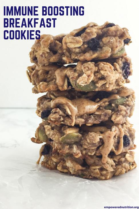 immune boosting breakfast cookies