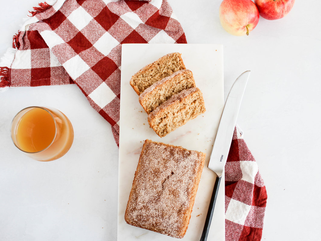 apple cider donut bread