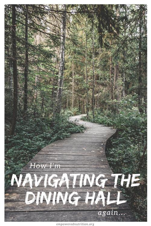 navigating dining hall