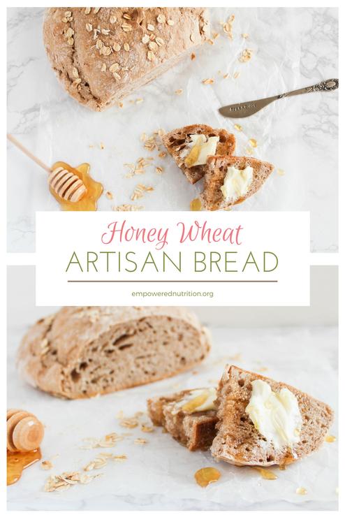 honey wheat artisan bread