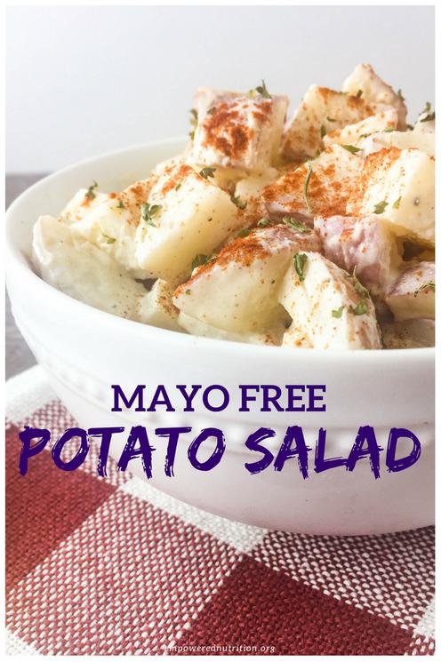 mayo free potato salad
