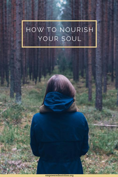 nourish body soul recipe self care