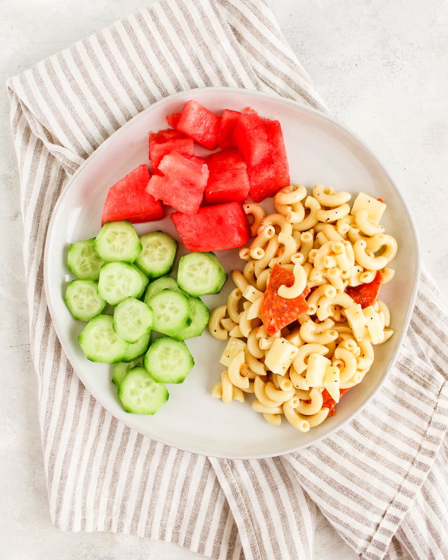 snack plate meal