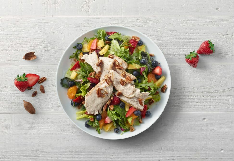 panera salad month