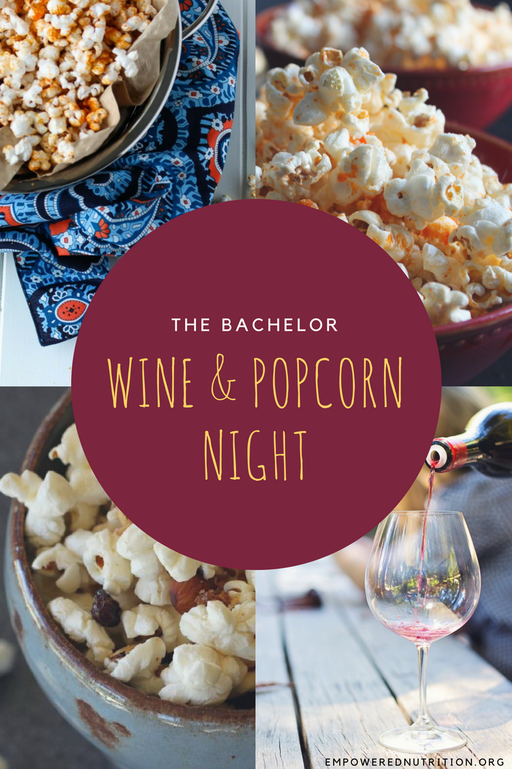 wine popcorn pinterest